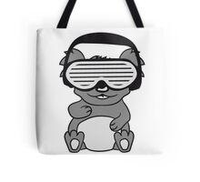dj party music celebration headphones glasses funky deejay club dancing disco koala Tote Bag