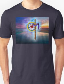 Lutheran Rose and Cross Unisex T-Shirt