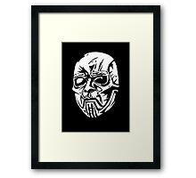 Sid Wilson's Mask Framed Print