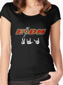 EODM - Peace Love Death Metal Women's Fitted Scoop T-Shirt