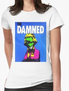 THE DAMNED - JUST CANT BE HAPPY TODAY Womens Fitted T-Shirt