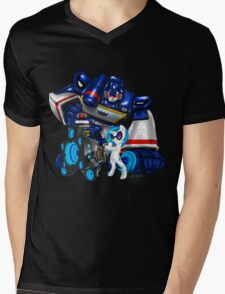 The Sonic Duo Mens V-Neck T-Shirt