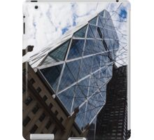 Hearst Tower Through the Bare Branches - Midtown Manhattan, New York City, USA iPad Case/Skin