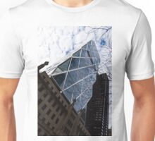 Hearst Tower Through the Bare Branches - Midtown Manhattan, New York City, USA Unisex T-Shirt