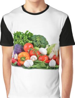 Vegetables Graphic T-Shirt