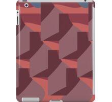 Facets Mauve iPad Case/Skin