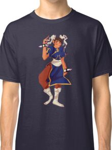 Street Fighter Chun Li Design Classic T-Shirt