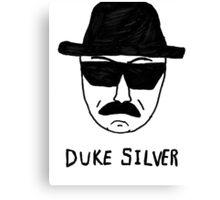 Duke Silver Canvas Print