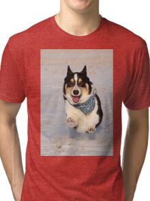 Yogi Takes to the Air Tri-blend T-Shirt