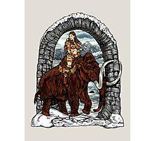 Rider Mammoth Photographic Print
