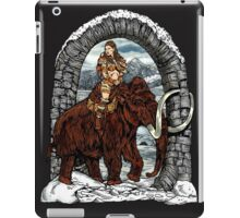 Rider Mammoth iPad Case/Skin