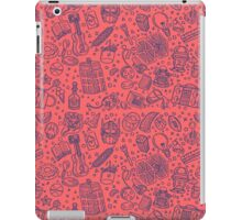 Popculture & Food Pattern iPad Case/Skin