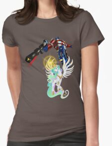 Celestia Heeds the Call of the Last Prime Womens Fitted T-Shirt