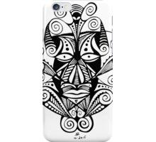 Swirly Mask iPhone Case/Skin