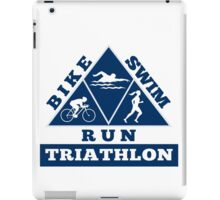 Triathlon iPad Case/Skin