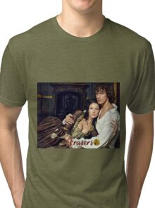 The Frasers/Jamie & Claire Tri-blend T-Shirt