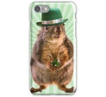 St Patricks Day Squirrel iPhone Case/Skin