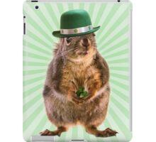 St Patricks Day Squirrel iPad Case/Skin
