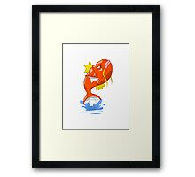 KARP ON Framed Print
