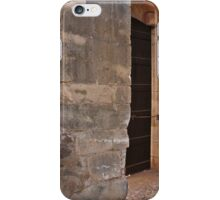 Medieval castle entrance in Algarve iPhone Case/Skin
