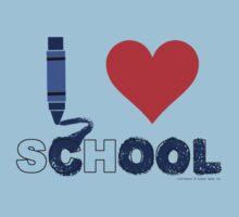 Cool ! I love school Baby Tee