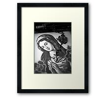 Contrary Mary Framed Print