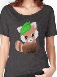 cute red panda   Women's Relaxed Fit T-Shirt