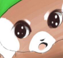 cute red panda   Sticker