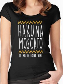 HAKUNA MOSCATO Women's Fitted Scoop T-Shirt