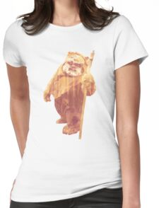 Jittery Little Thing (Ewok) Alternate Womens Fitted T-Shirt