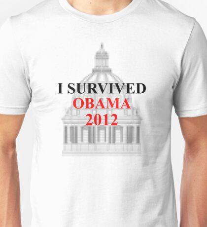 I SURVIVED OBAMA 2012 Unisex T-Shirt