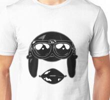 Female Pilot Graphic Design Unisex T-Shirt