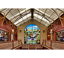 Shopping Arcade  Photographic Print