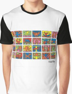 Keith Haring Colors Graphic T-Shirt