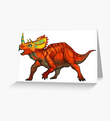Regaliceratops peterhewsi Greeting Card