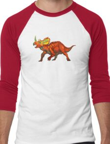 Regaliceratops peterhewsi Men's Baseball ¾ T-Shirt