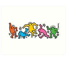 Keith Haring People Art Print