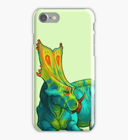 Chasmosaurus belli iPhone Case/Skin