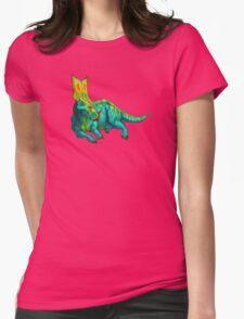 Chasmosaurus belli Womens Fitted T-Shirt