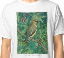 Cedar Waxwing Classic T-Shirt