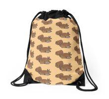 smallish squirrel Drawstring Bag