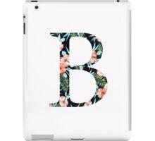 Beta Floral Greek Letter iPad Case/Skin
