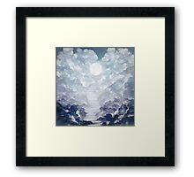 astral projection. Framed Print