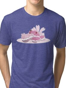 Pokepuff Panic: Supreme Spring Inspired Tri-blend T-Shirt