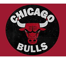 Chicago bulls logo Photographic Print