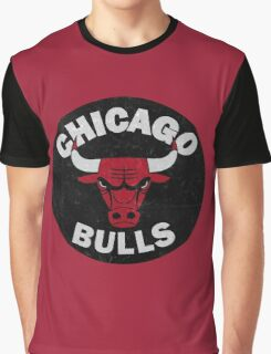 Chicago bulls logo Graphic T-Shirt