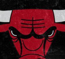 Chicago bulls logo Sticker