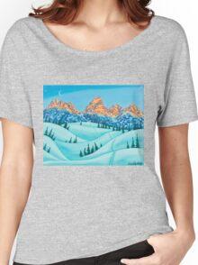 Alpen Glow Women's Relaxed Fit T-Shirt