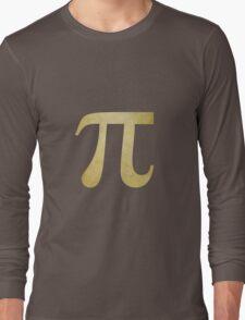Yellow Pi Symbol Long Sleeve T-Shirt