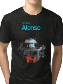 Fernando Alonso 2016 Tri-blend T-Shirt